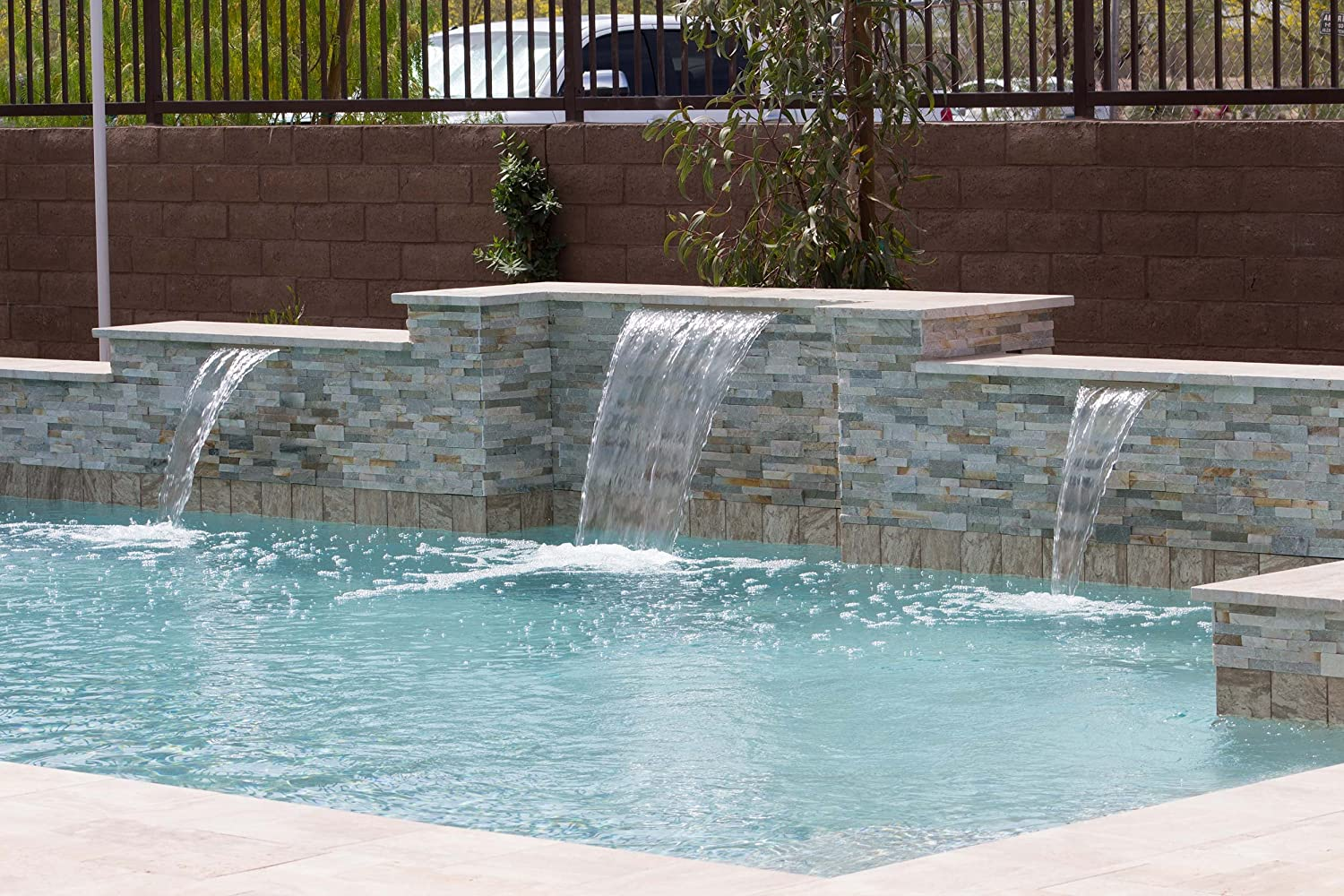 #2 Most Valued Pool Feature - Sheer Descent Water Features